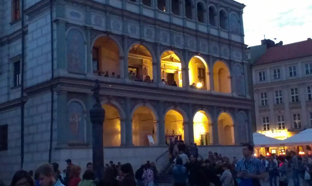 Poznański ratusz był oblegany podczas Nocy Muzeów