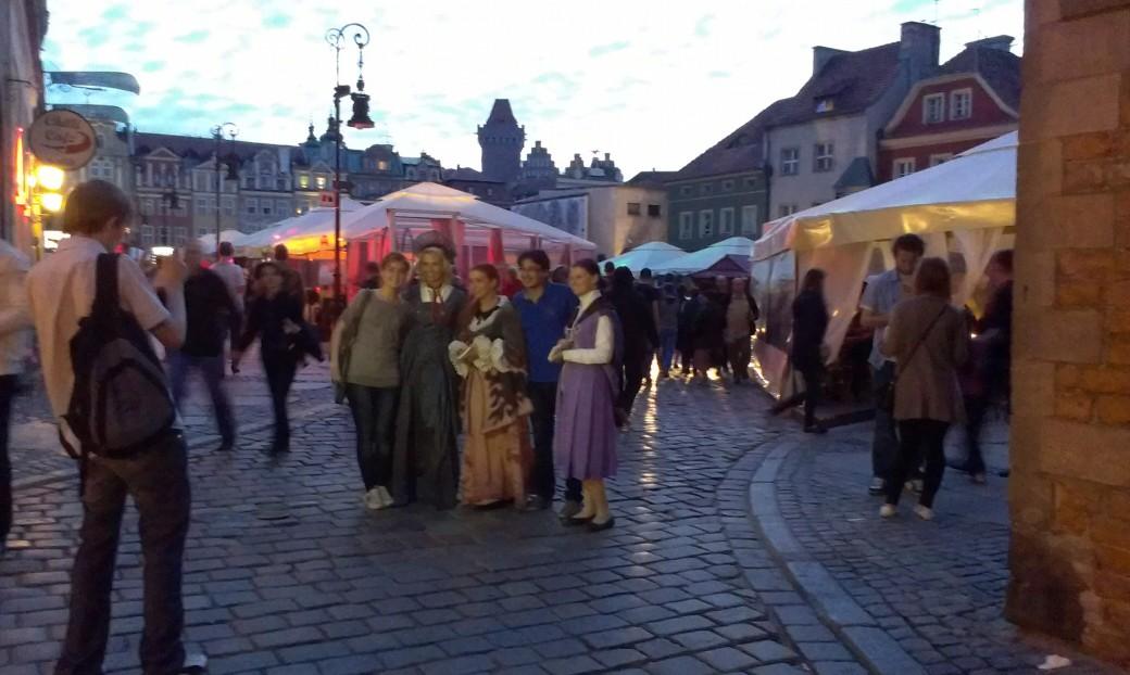 Na Starym Rynku można było spotkać niecodzienne postaci