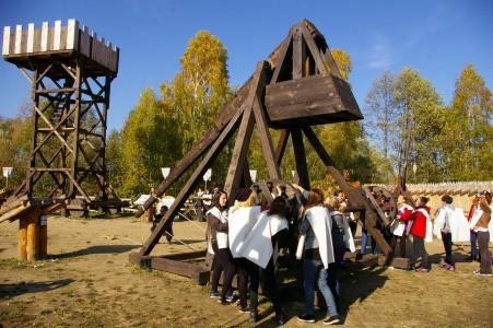 Historyczny Park Rozrywki Gród Pobiedziska fot. B. Styszyński
